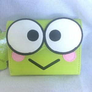 Keroppi Loungeflu wallet